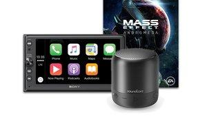 Amazon-Angebote: Apple CarPlay, LG 4K-TV, Mass Effect: Andromeda, wasserdichter Bluetooth-Lautsprecher