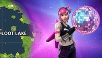 Fortnite BR: Diskokugel anheben - bei Loot Lake (Woche 5)
