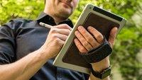 Tablet-Handschlaufe TabStrap im Test: Haftbefehl ohne Konsequenzen