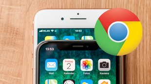 Chrome für iOS: Googles Browser zeigt neues Design