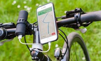 Fahrradzubehör für iPhone und Android-Smartphones: Mit dem iRad optimal auf Tour