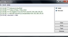 Chat über lokales Netzwerk (LAN/WLAN) – so geht's