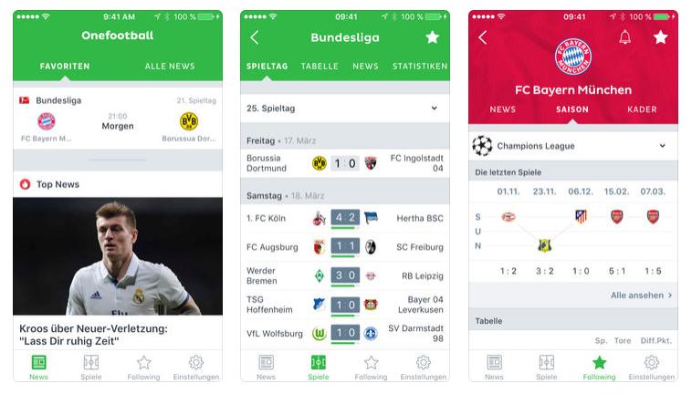 Onefootball Fussball App Mit News Liveticker Toralarm