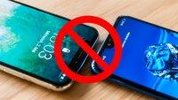 Tschüss, Displaylücke: Die 8 + 1 besten Smartphones ohne Notch