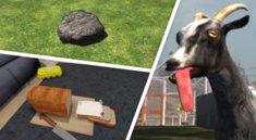 17 verrückte Simulatoren: Von Ziegen, Steinen und anderem Unsinn