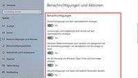 Windows 10: Benachrichtigungen deaktivieren – so geht's