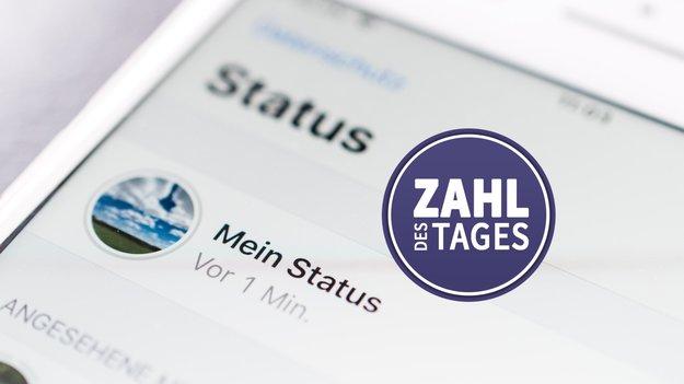 WTF … Der WhatsApp-Status ist ein weltweiter Hit!?