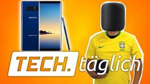 iPhone X mit USB C, Galaxy Note mit fett Speicher und praktisches Webcam-Cover – TECH.täglich