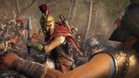 Assassin's Creed Odyssey: Ziehe in den Krieg gegen Sparta