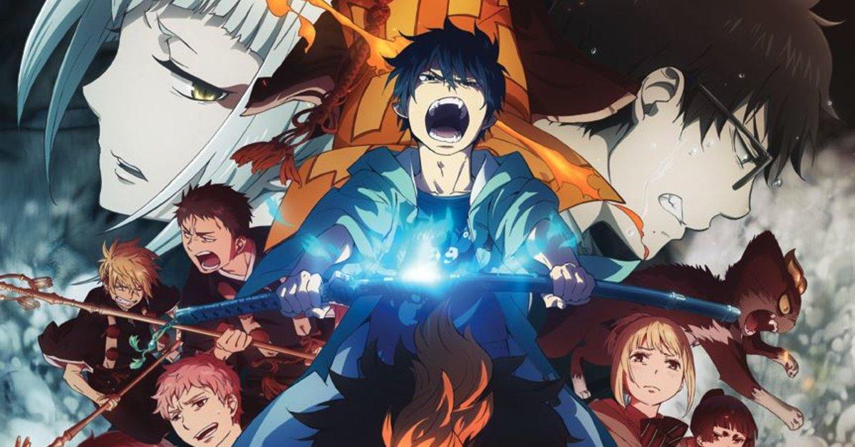 Wo Läuft Blue Exorcist Staffel 2 Kyoto Saga Im Stream Online