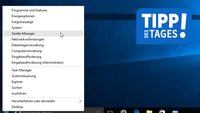 Windows 10: Gerätemanager öffnen – so geht's