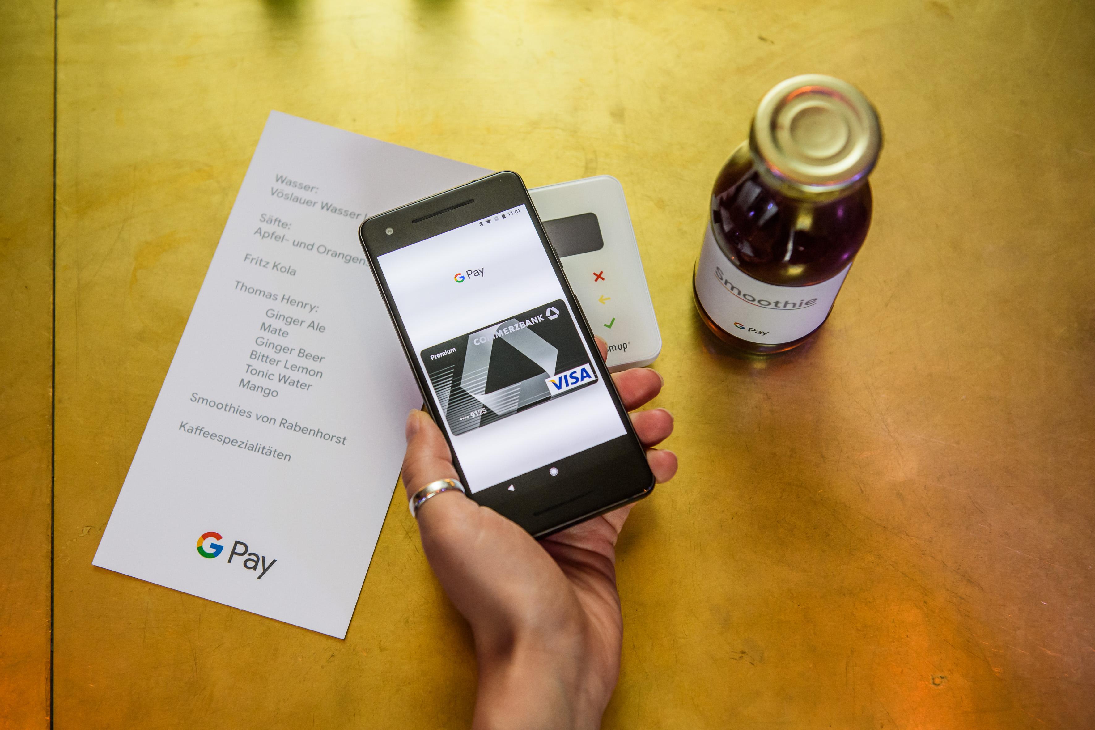 Kartennummer Ec Karte Commerzbank.Google Pay Die 5 Wichtigsten Fakten Zum Deutschlandstart