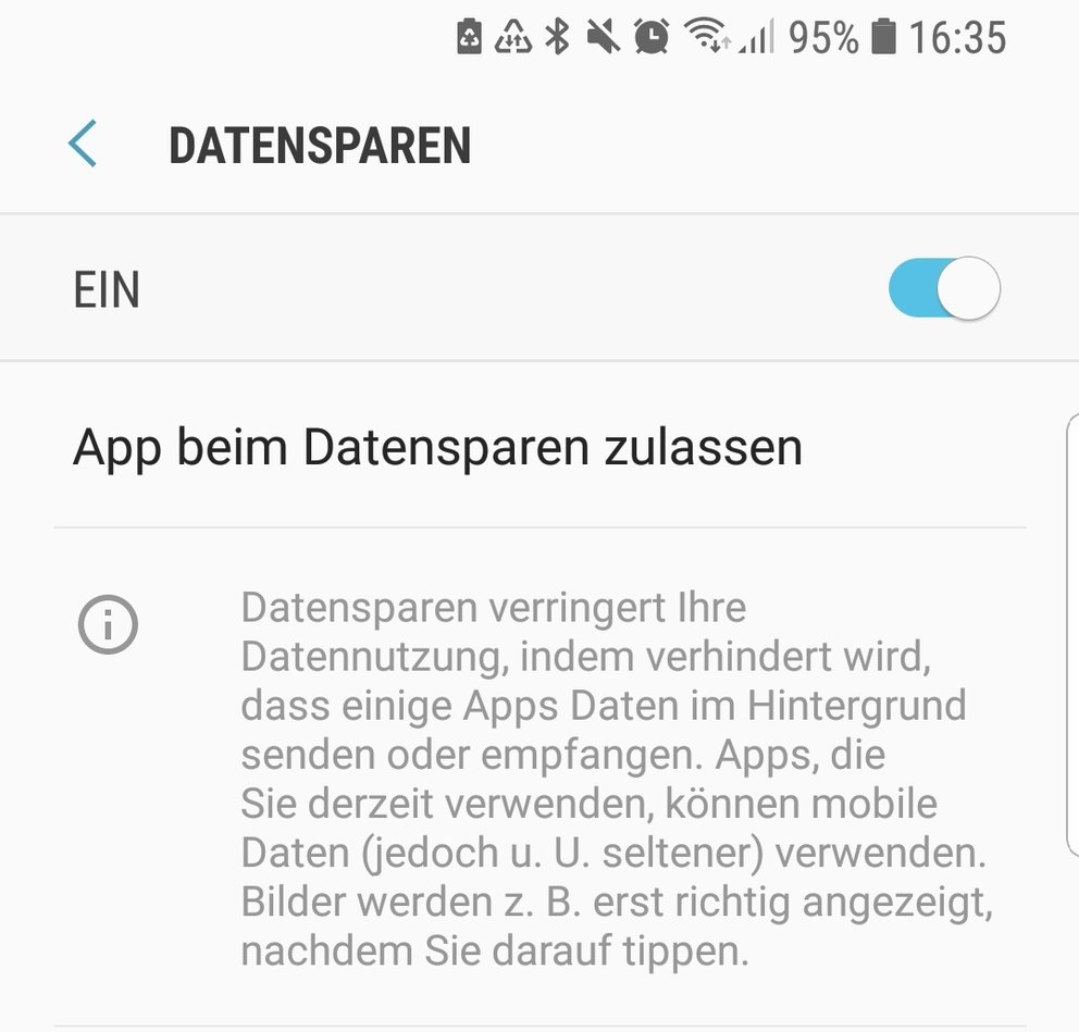 android-datensparen