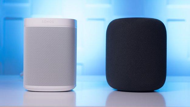Apple HomePod und Sonos One im Klang-Duell: Welcher Lautsprecher ist besser?