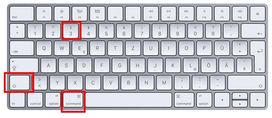 Bildergebnis für Bildschirmfoto auf Mac
