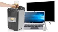 Amazon-Angebote: MacBook-Air-Clone, Bottoms-Up-Bierzapfanlage, 65-Zoll-TV, wasserdichter USB-Stick