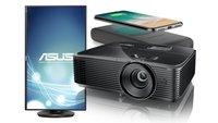 Amazon-Angebote: Optoma Full-HD- und 4K-Beamer, Asus Pivot-Monitor, kabellose Powerbank und mehr