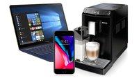 Amazon-Angebote: iPhone 8 als Vertragsschnäppchen, diverse Asus-Notebooks, Philips Kaffeevollautomat und mehr