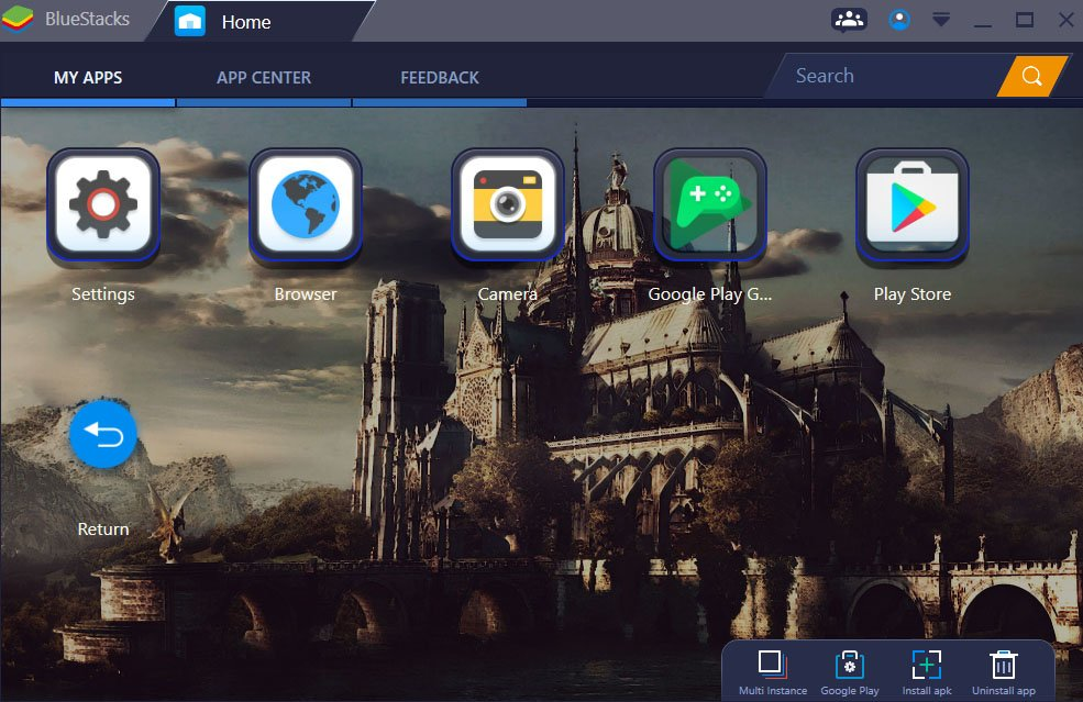 Bildquelle: Bluestacks Support