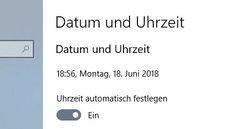 Datum & Uhrzeit einstellen (Android, iOS, Windows) – so geht's
