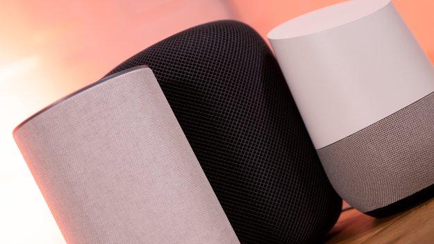 Amazon Echo, Google Home und HomePod im Vergleich