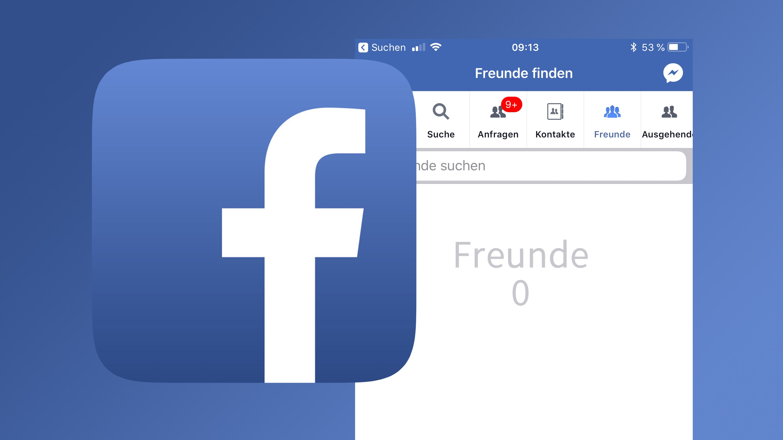 Freundschaft schicken facebook nachricht ohne Facebook testet