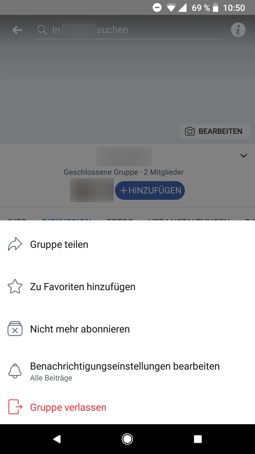 Facebook Gruppe Posten Geht Nicht