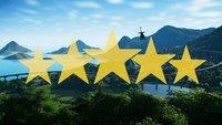 Jurassic World Evolution: Inselbewertung auf 5 Sterne erhöhen