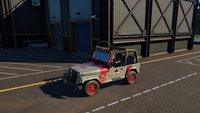 Jurassic World Evolution: Skins für Fahrzeuge und Helikopter freischalten