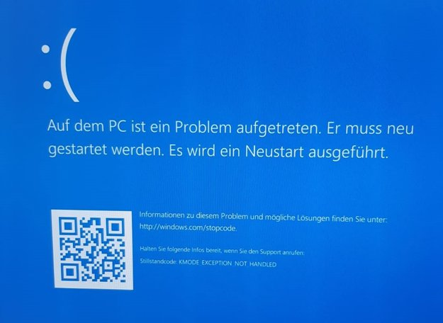 Lösung: KMODE_EXCEPTION_NOT_HANDLED – Windows-Fehler