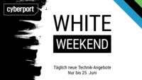 Fette Deals am White Weekend bei Cyberport