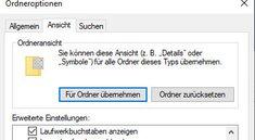 Windows 10: Ordneroptionen öffnen & anpassen – so geht's