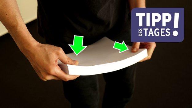 Papierstau im Drucker vermeiden – mit einem einfachen Handgriff
