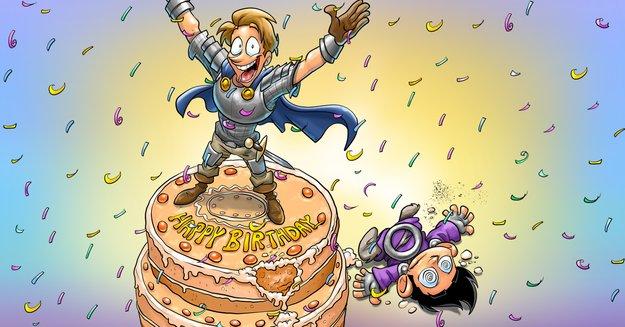 Shakes & Fidget – das abgedrehte MMO wird neun Jahre alt!