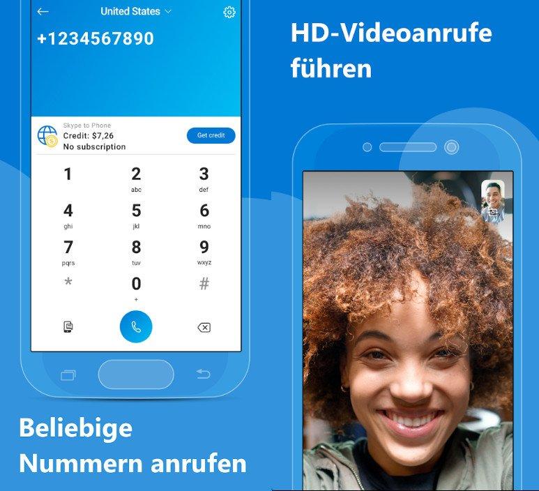 Bild: Skype