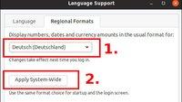 Ubuntu auf Deutsch umstellen – so geht's
