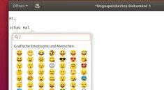 Ubuntu: Emojis nutzen (Tastenkombination) – so geht's