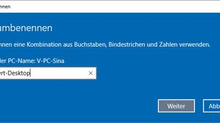 Windows 10: So ändert ihr den Computernamen