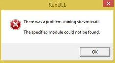 Lösung: Windows 10 – SBAVMon.dll wurde nicht gefunden