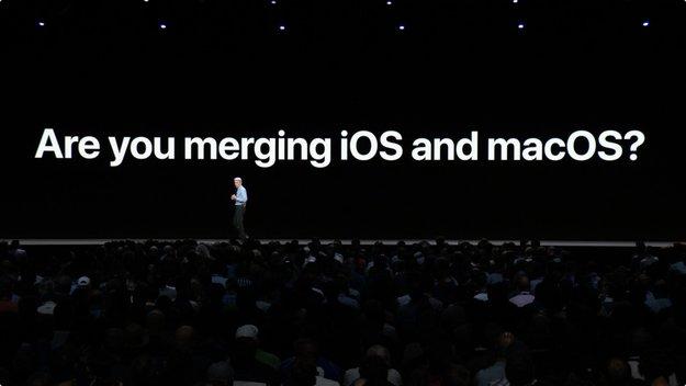 iOS und macOS: So sieht Apple die gemeinsame Zukunft der Betriebssysteme