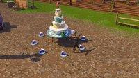 Fortnite: Kuchen finden - Fundorte vom Geburtstagskuchen