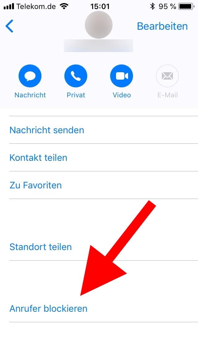 Löschen endgültig whatsapp blockierte kontakte Blockierte Kontakte