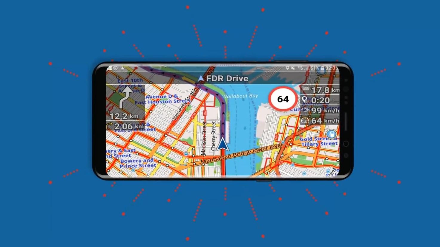 Alternative zu Google Maps? Navigator PRO für kurze Zeit kostenlos