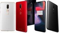 OnePlus 6 kaufen: Rot und Weiß jetzt auch bei Amazon verfügbar
