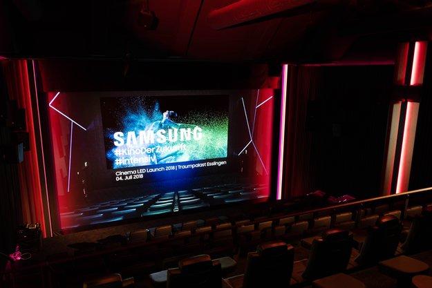 Endlich sattes Schwarz: Deutsches Kino setzt auf neue Technik von Samsung