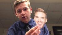 YouTuber will für eine Challenge 100 PewDiePie-Gesichter aus Papier essen