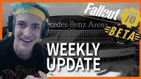 Weekly Update: PUBG Invitational, Beta zu Fallout 76 kommt und hat Ninja Ligma?