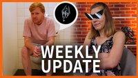 Weekly Update: PlayStation-Update 6.0, Skyrim auf dem Klo und Schiggy mit Sonnenbrille