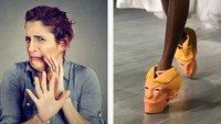 32 abartige Fotos von Schuhen, bei denen sich dir die Zehennägel aufrollen