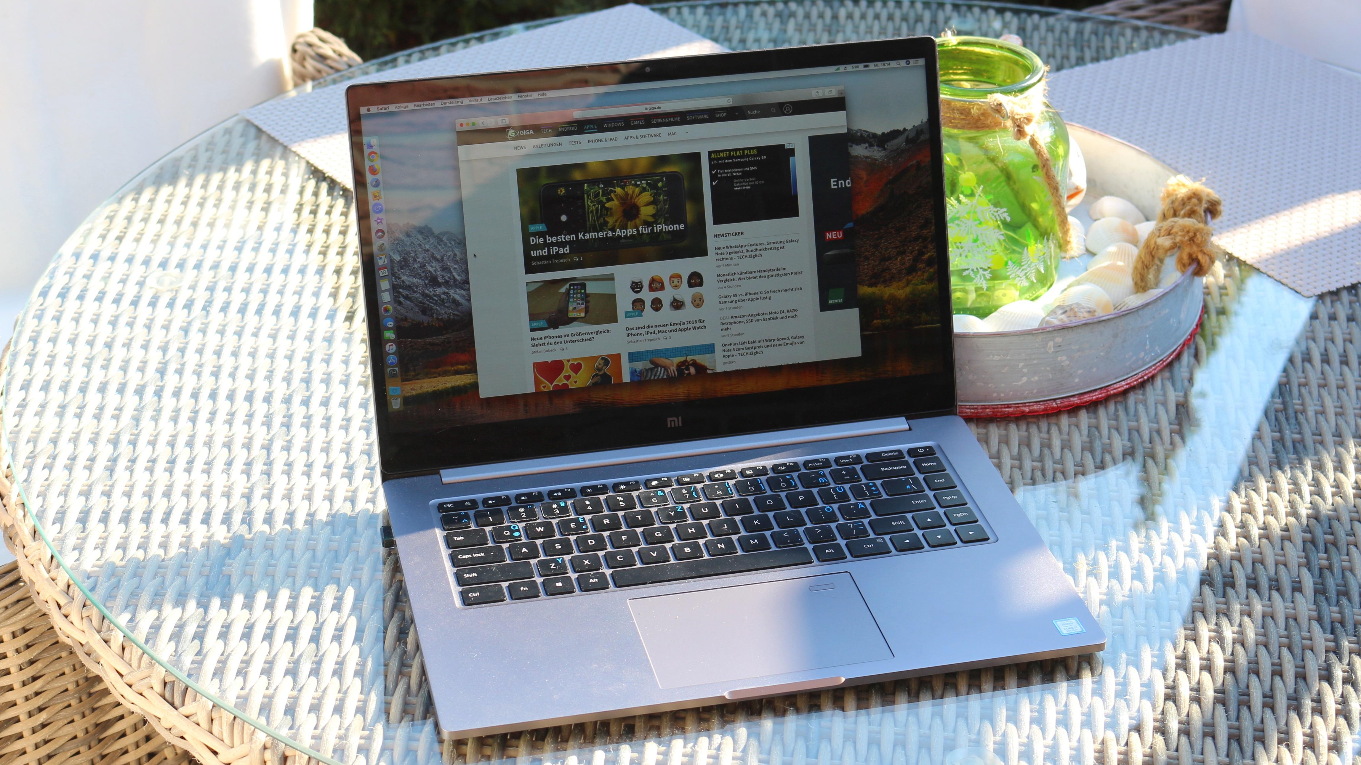 So gut das Xiaomi Mi Notebook Pro als Hackintosh funktioniert so deutlich werden Unterschiede zu einem echten Macbook Pro aufgezeigt Die Apple Laptops